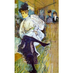 Lautrec - Jane Avril Dancing