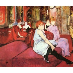 Lautrec - The Salon in the Rue des Moulins