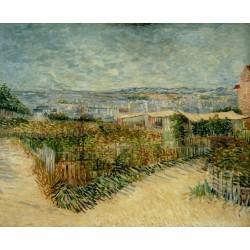 Van Gogh - Vegetable Gardens in Montmartre