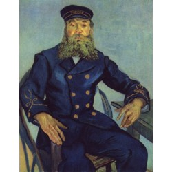 Van Gogh - Portrait of the Postman Joseph Roulin