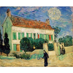 Van Gogh - The White House at Night