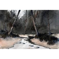 Ραφαήλ - ρυάκι στο δάσος